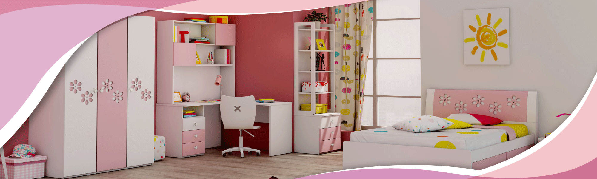 Bring comfort and safety in your childs room with exclusive furniture