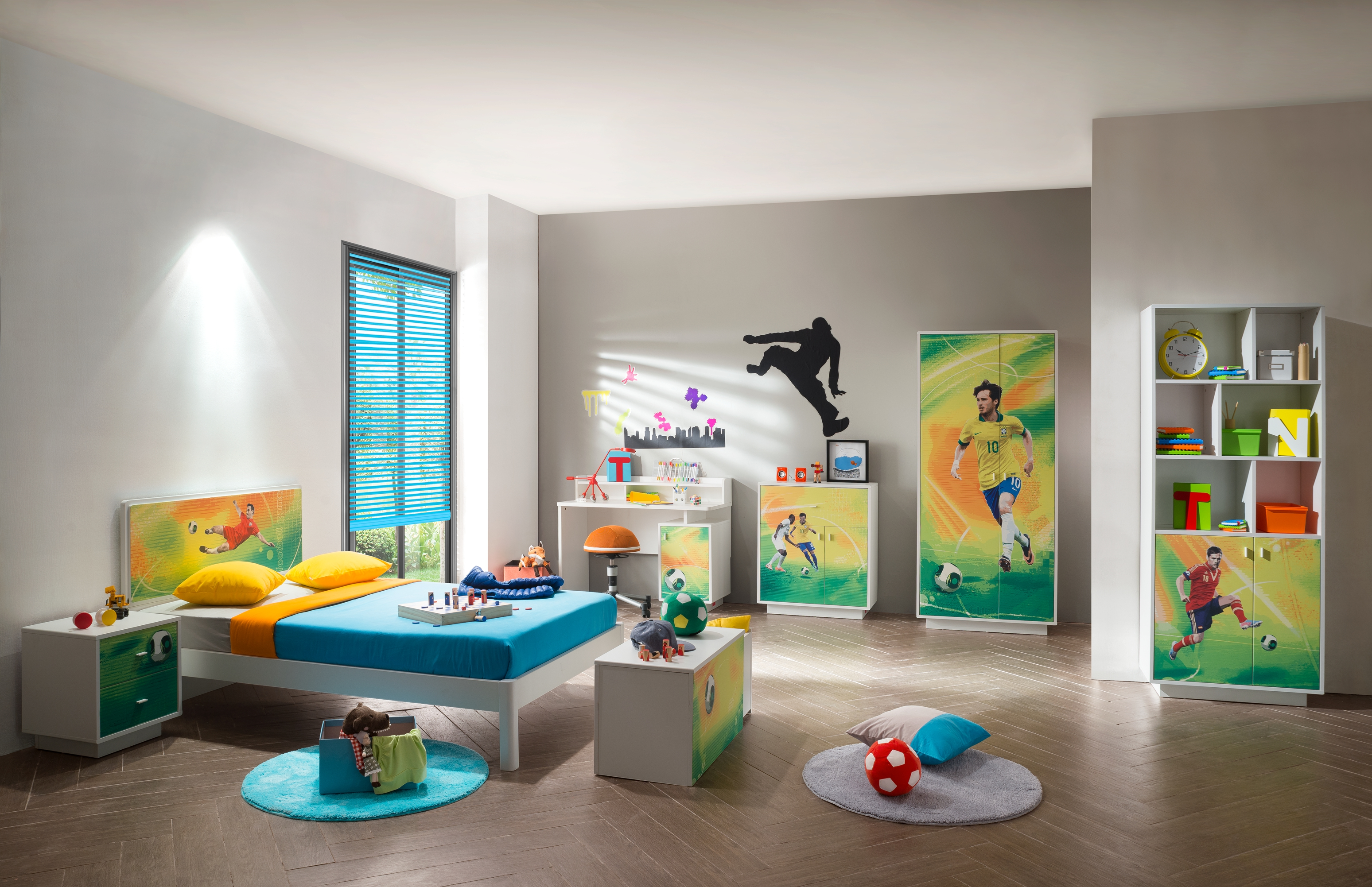 Kids Room Decor Ideas For The Urban Compact Home Alex Daisy Blogs