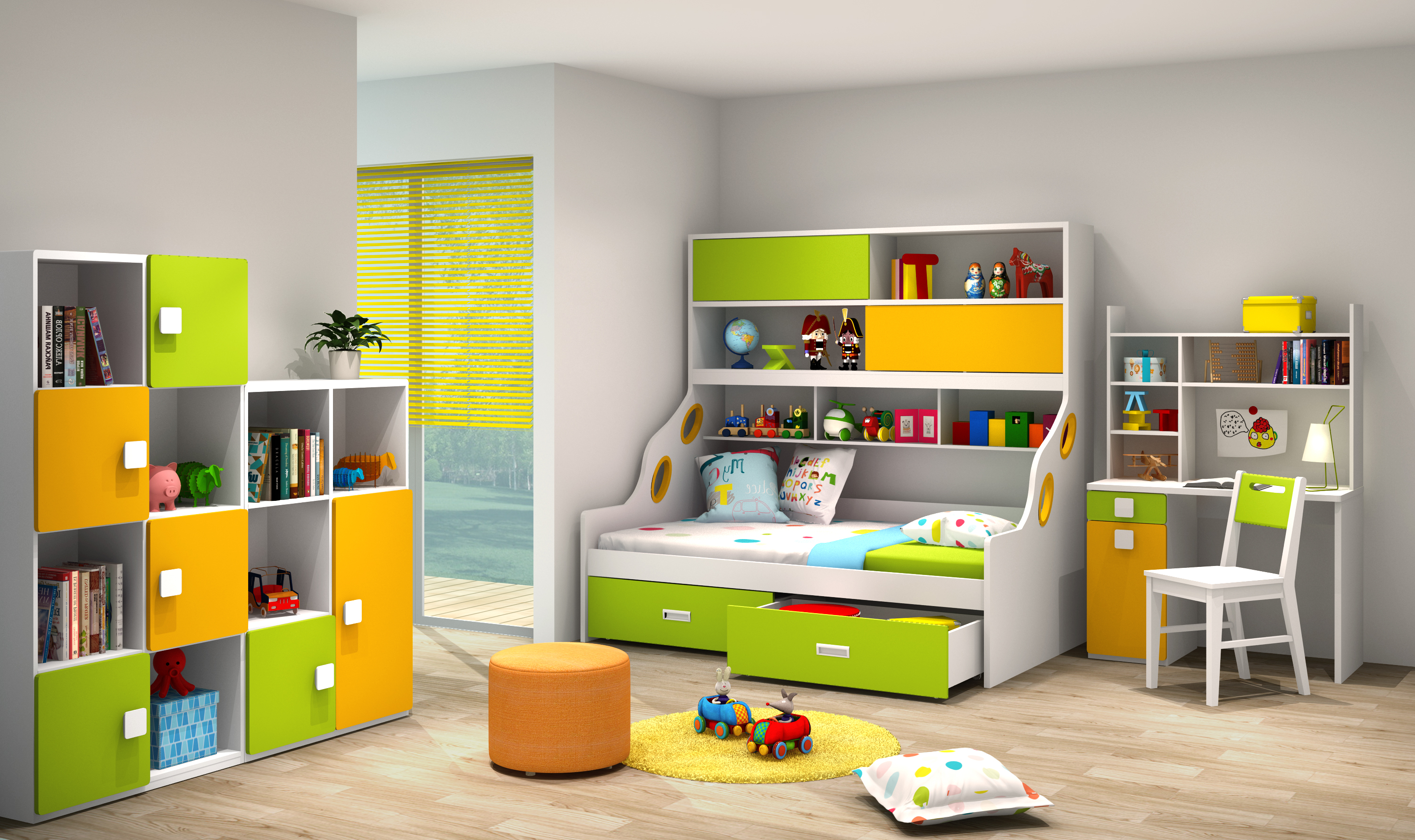 Things to keep in mind when you are buying kids furniture