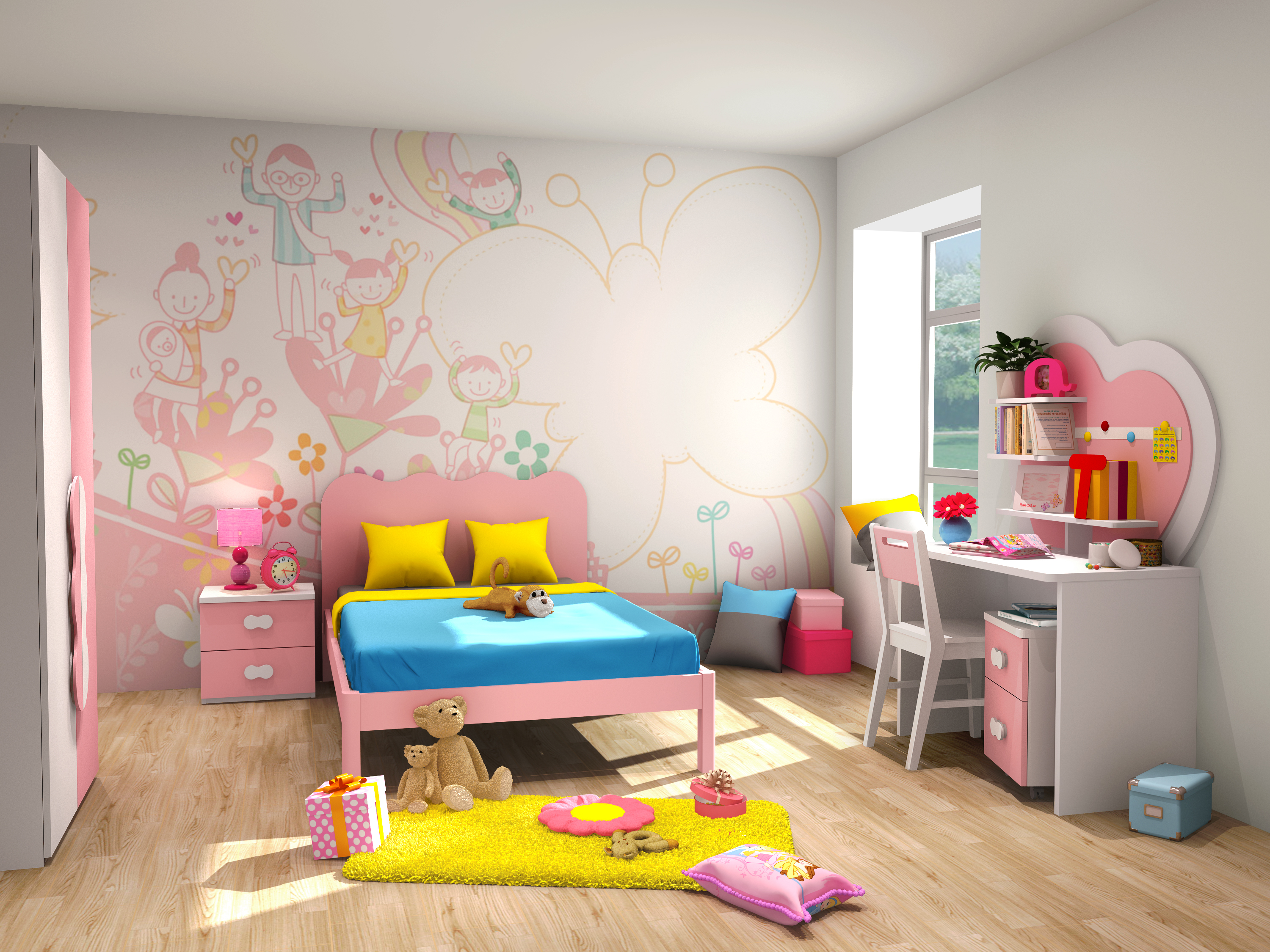 Nurture Creativity In Your Children With Exclusive Furniture