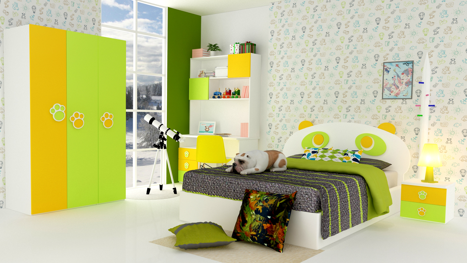 Kids Bedroom Ideas Kids Room Decor Kids Room Study Table Design