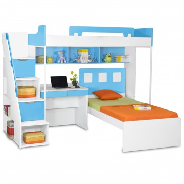 Milano Bunk Bed with Study Table