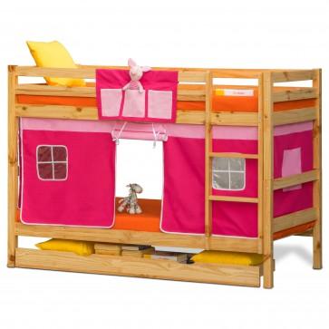 Oslo - Kids Bunk Bed | Bunk Bed with Slide | Bunk Beds | Princess bunk bed | Loft Bunk beds