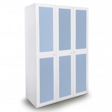 French - three door wardrobe