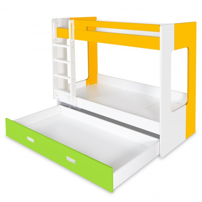 Manhattan - Bunk Bed - Yellow/White/Green5