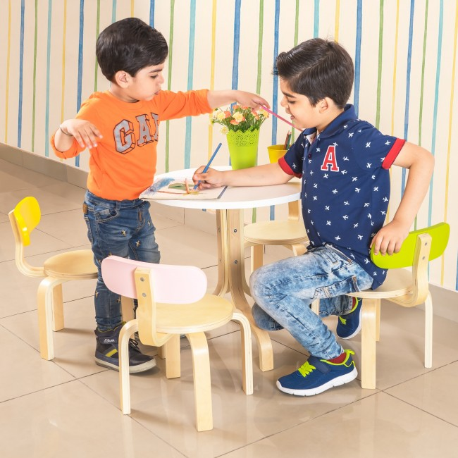 Tods Activity Table & Chairs - 5 Pcs. set2