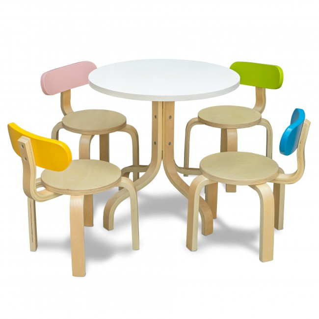 Tods Activity Table & Chairs - 5 Pcs. set7