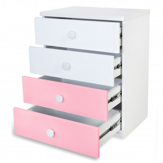 Victoria - Chest of Drawer - Pink2