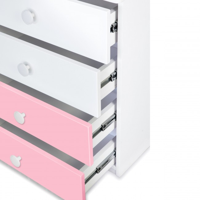 Victoria - Chest of Drawer - Pink4