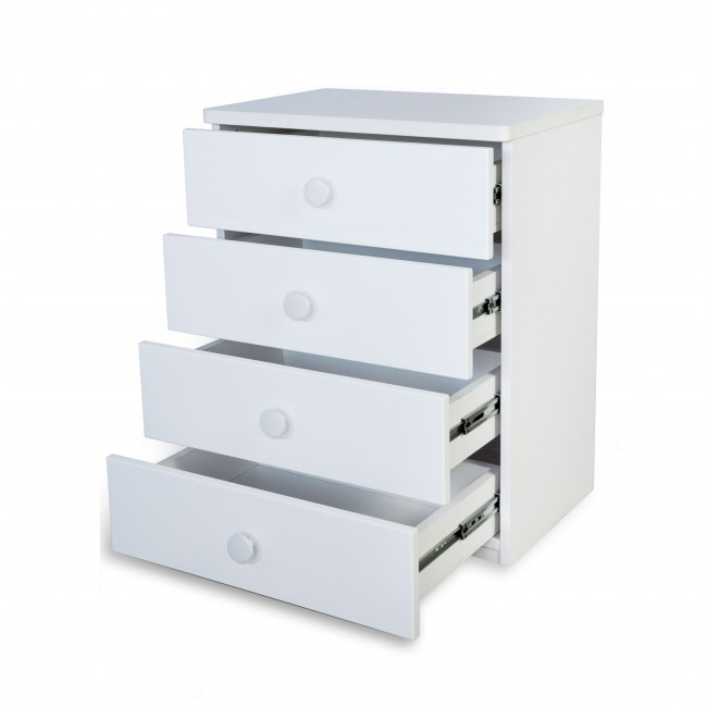 Victoria - Chest of Drawer - White2