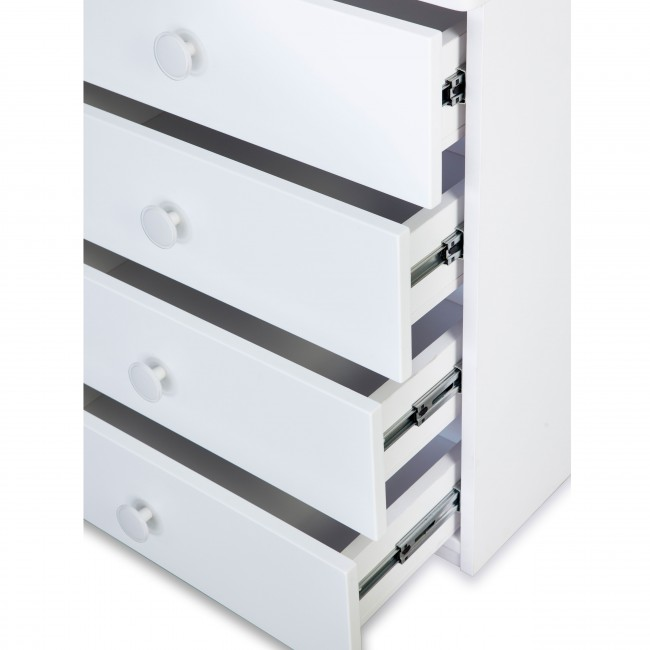 Victoria - Chest of Drawer - White4