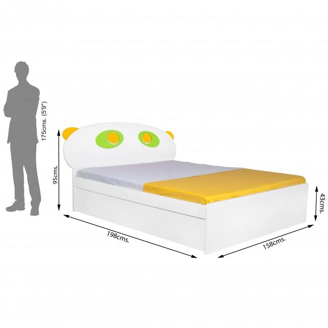 Panda - Queen Size Bed6
