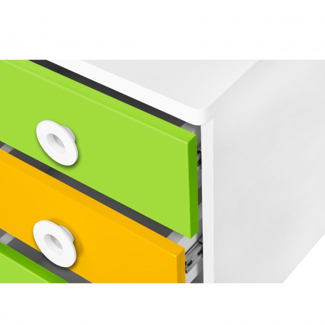 Prism - Movable Drawer Set - Yellow/Green3