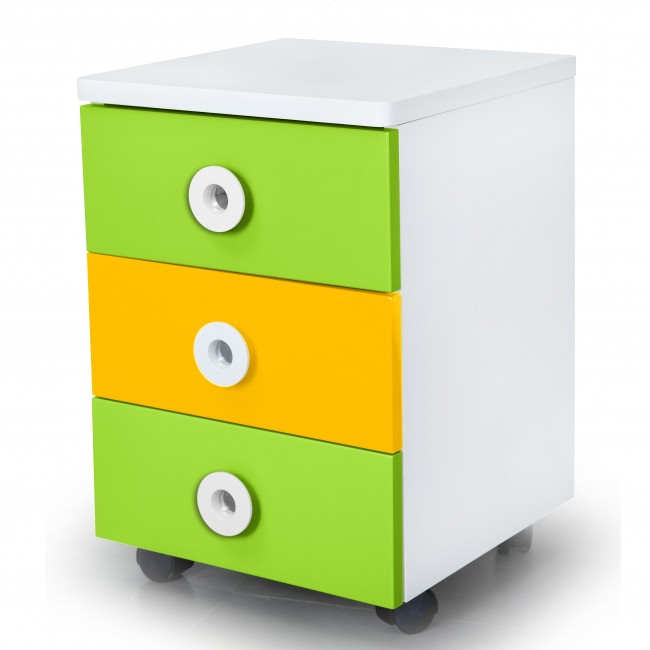 Prism - Movable Drawer Set - Yellow/Green4