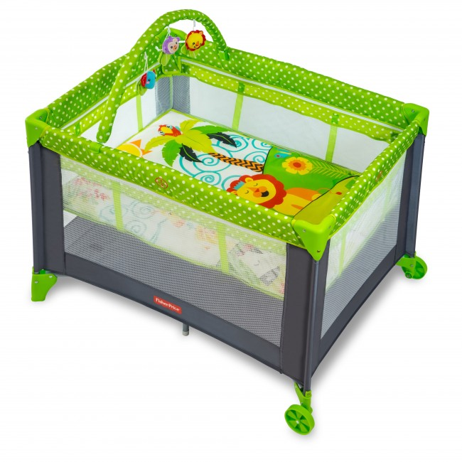 Fisher Price - baby cot with storage