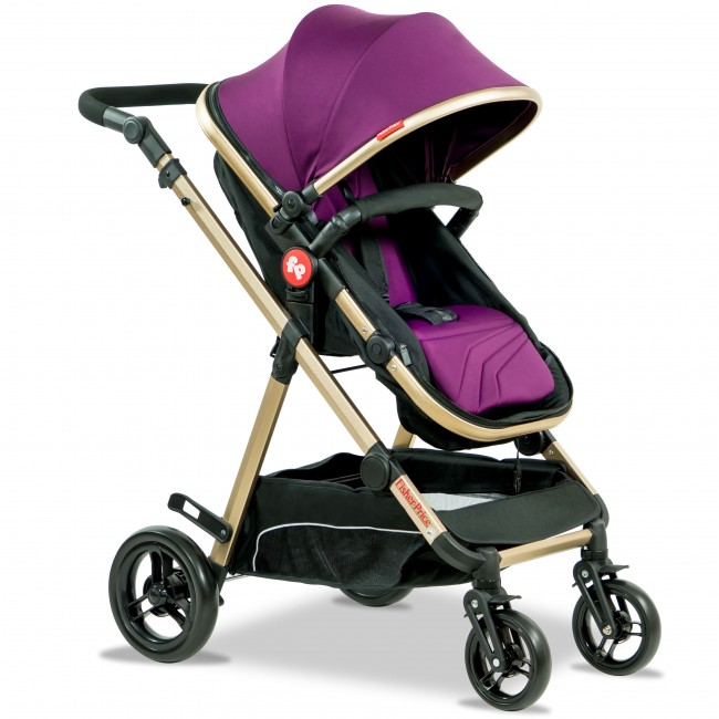Fisher Price - Hiker Luxury Stroller Cum Pram-3