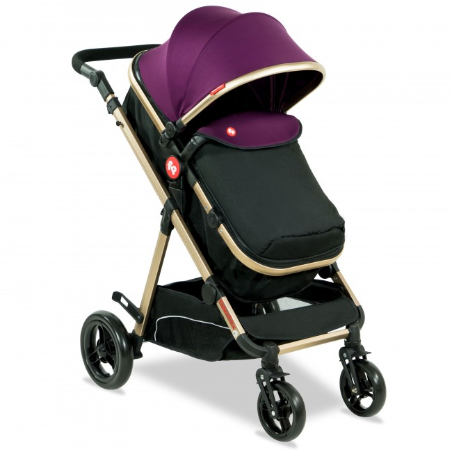 Fisher Price - Hiker Luxury Stroller Cum Pram-4