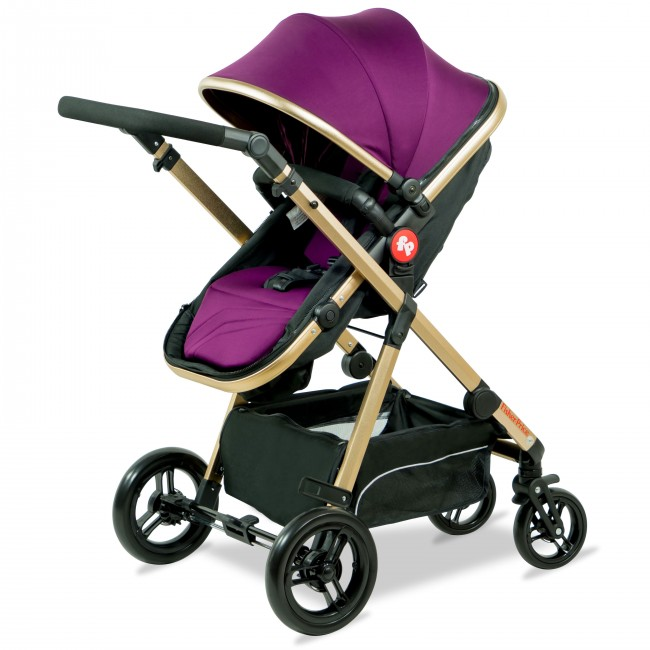 Fisher Price - Hiker Luxury Stroller Cum Pram-6