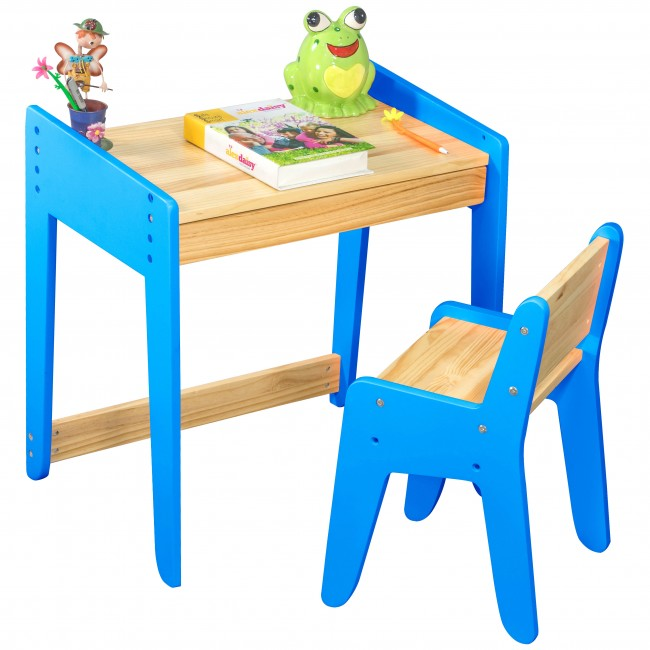 neo wooden study table chair set study table for kids. Black Bedroom Furniture Sets. Home Design Ideas