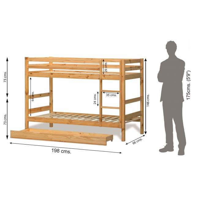 Oslo Premium Bunk Bed 6