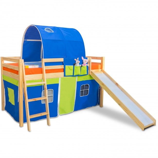 Montana - Kids Bunk Bed | Bunk Bed with Slide | Bunk Beds | Princess bunk bed | Loft Bunk beds