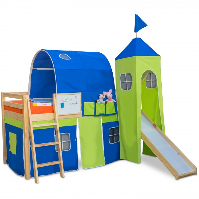 Castle - Kids Bunk Bed | Bunk Bed with Slide | Bunk Beds | Princess bunk bed | Loft Bunk beds