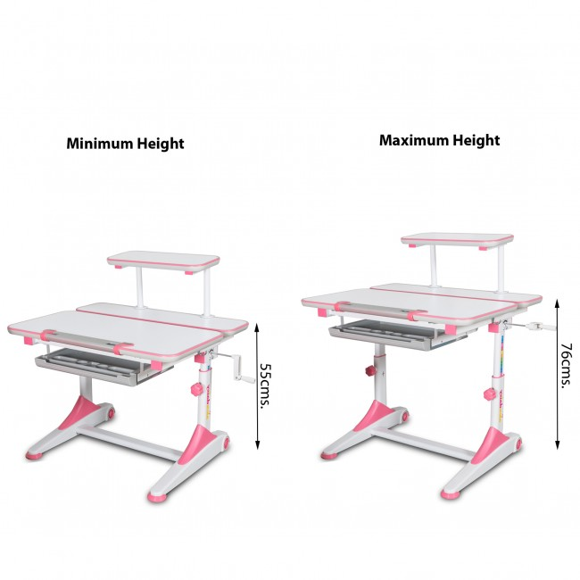 iStudy - Height Adjustable Study Table3
