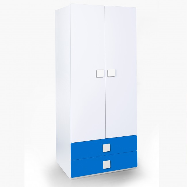 Two Door & Two Drawer Wardrobe - Two door wardrobe | two door wardrobe with drawers