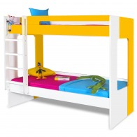 Manhattan - Kids Bunk Bed | Bunk Bed with Slide | Bunk Beds | Princess bunk bed | Loft Bunk beds