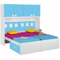 Orlando Twin Bed with Drawers