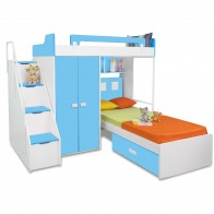 Boston - Kids Bunk Bed | Bunk Bed with Slide | Bunk Beds | Princess bunk bed | Loft Bunk beds