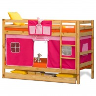Oslo - Kids Bunk Bed | Bunk Bed with Slide | Bunk Beds | Princess bunk bed | Loft Bunk beds