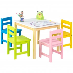 Blossom Activity Table & chairs - 5 Pcs. set